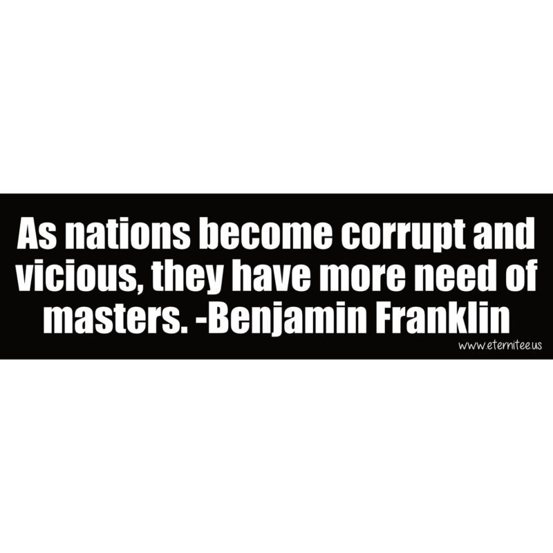 As Nations Become Corrupt